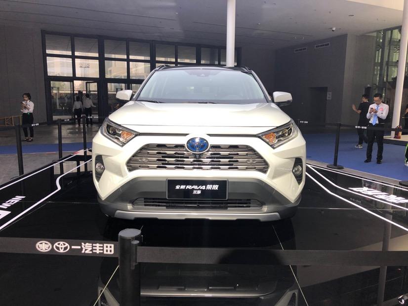 一汽丰田携多款全新产品闪耀福州车展