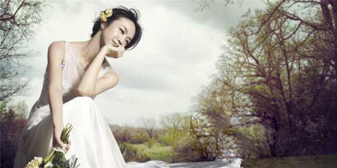 梦幻唯美 不止张歆艺,每个女星的婚纱照都是美哭的节奏