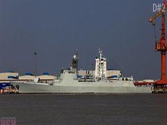马不停蹄铸神盾!中国船厂加速建造052D驱逐舰