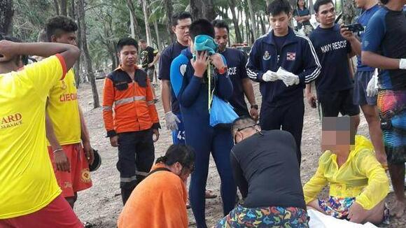 中国游客普吉岛海滩岩石区跌落 头部受创不治身亡