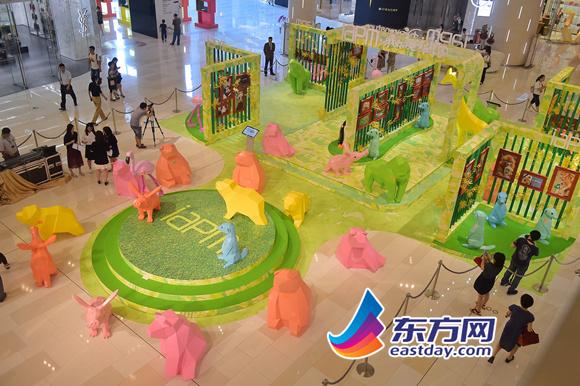 保护野生动物 环贸iapm商场「夏日动物王国」主题展