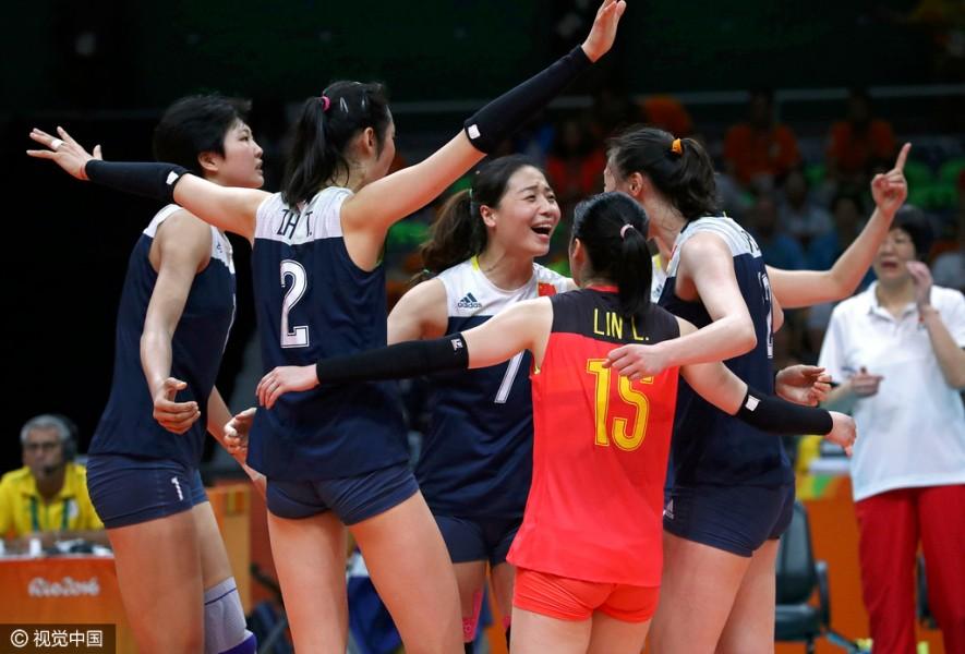 女排半决赛中国3-1复仇荷兰 时隔12年再进决赛