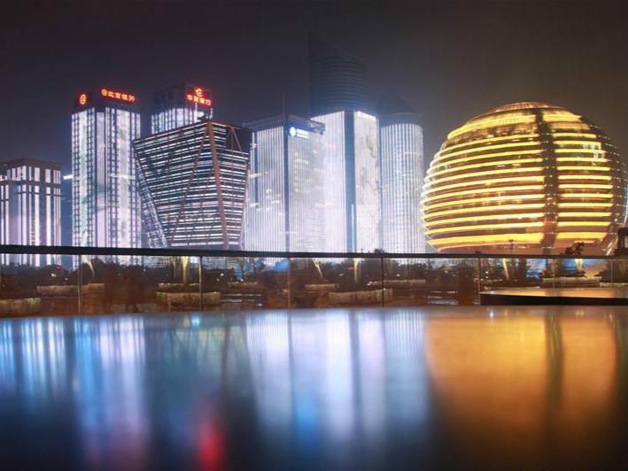 杭州:灯光璀璨迎G20峰会