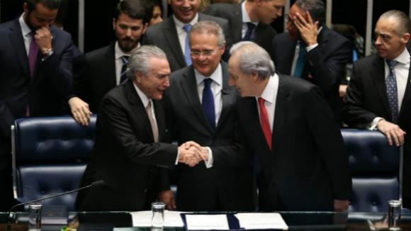 罗塞夫被罢免总统职务 特梅尔就任巴西总统