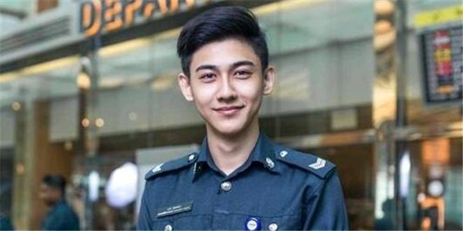为见这位保安 世界各地的妹子都飞去了新加坡