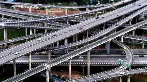 重庆刚完工的这座立交桥,导航都看哭了