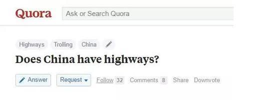 美国网友问中国有高速公路吗?回答亮了