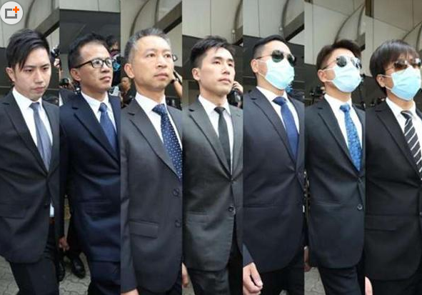 """香港反""""占中""""7名警察均获保释 曾因判决不公引发集会"""
