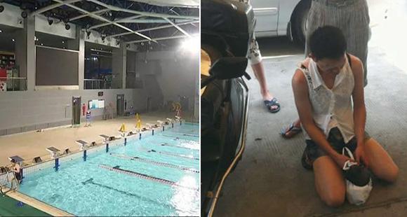 18岁男生扮女装进泳池女更衣室 涉偷窥被拘5日