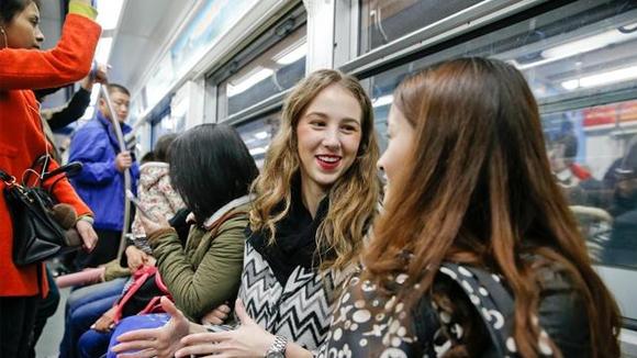 在中国工作的乌克兰女孩,想永远留在中国!