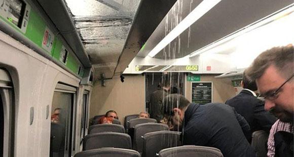 日本为英国造高铁:开通首日成水帘洞