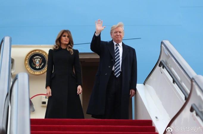 美国总统特朗普来了!