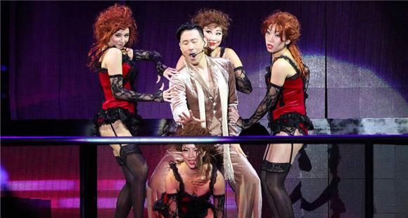 56岁张学友开世界巡演 与众美女热舞超有激情