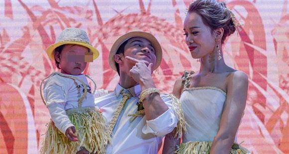 他带两岁女儿娶媳妇 婚礼现场曝光