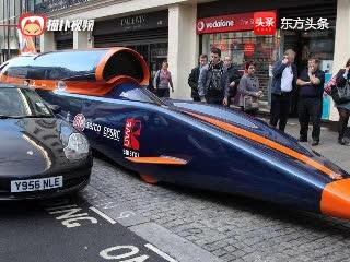 世界上最快的汽车,3218公里/小时比子弹都快,已突破极限!