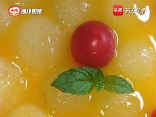 冬瓜丸子,冰镇后更好吃,酸酸甜甜清凉解暑