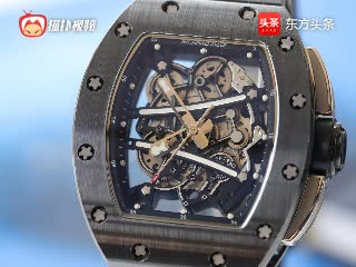 理查德米勒全镂空腕表,亿万富豪的入场券