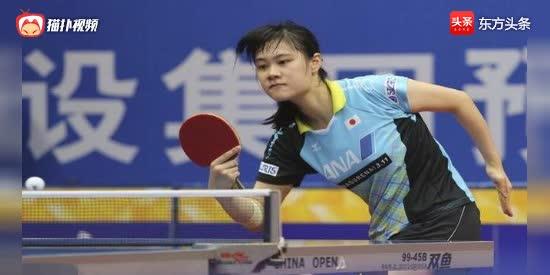 与平野美宇抢资格!日本乒球美少女才色兼备 母亲是中国人