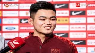 黄紫昌:用实力敲开国家队大门 希望国足首球早日到来