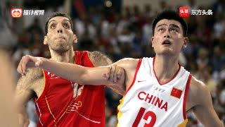 男篮最强一战!08年北京奥运会,中国男篮加时赛惜败西班牙男篮
