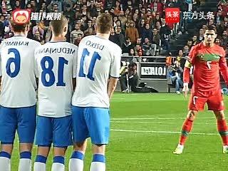 C罗葡萄牙11大逆天进球,真正的球王不局限在俱乐部