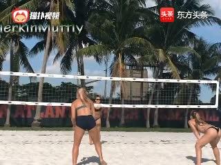 女子沙滩排球十佳球!不仅好看而且惊艳!