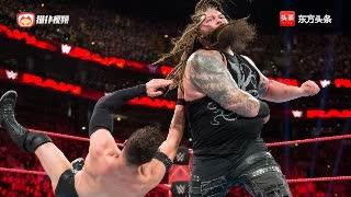WWE罗门复仇未果赛后遭布朗惨无人道摧残
