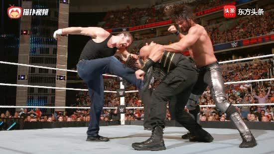 WWE历史上最激动人心的时刻,眼睛千万别飘动!