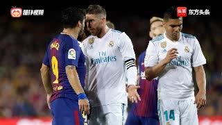 盘点足球比赛中的劲爆冲突集锦:梅西被水爷调戏,心里慌得一比