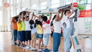 惠若琪教乡村孩子打排球!整合体育心理自救等领域 了解体育文化