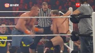 WWE 约翰布莱特哈特vs RAW晚餐及边缘与克里斯杰里科