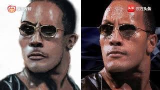WWE重量级拳击锦标赛.巨石强森vs布洛克·莱斯纳尔!