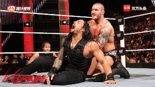 WWE圣盾三兄弟重聚,暴揍巴蒂斯塔HHH与毒蛇!