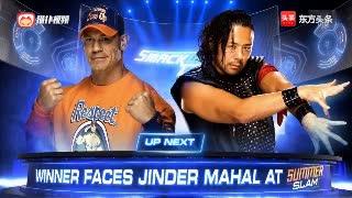 WWE塞纳老中医梦幻对决,第一挑战者花落谁家