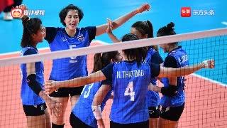 泰国女排3-0送蛋日本夺取A组第一,意不意外惊不惊喜?
