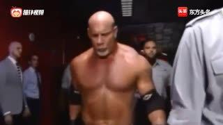 WWE战神高柏出手便是一招致命布洛克!全场惊呆了