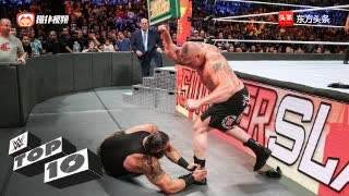 WWE美国职业摔角8月TOP10最精彩时刻!