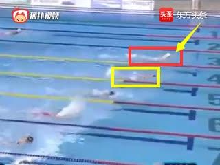 蝶泳中国焦刘洋前150米落后,最后50米爆发甩开日本名将夺冠
