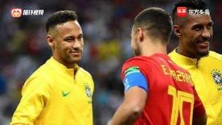 当内马尔遇见阿扎尔谁才是当之无愧的过人王?你喜欢谁的球风?