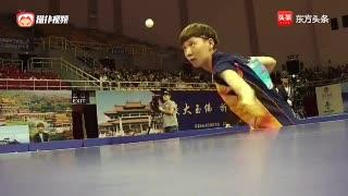 王曼玉以4-1强势战胜丁宁获得全国乒乓球锦标赛冠军
