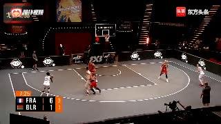 街头篮球五大过人集锦,女选手也会大幅度体前变向