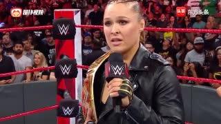 WWE隆达罗西开启公开挑战赛 暴动小队踢馆贝拉姐妹解围