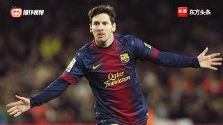 梅西,足球场上跳动的精灵,无人能挡,目送他进球