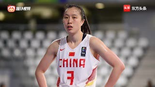 中国女篮的科比,邵婷连续两次用教科书般的转身上篮戏耍对手