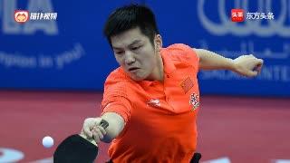 国乒不成文的规定,樊振东不忍心11比0韩国小伙,要尊重对手