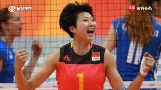 中国女排的中流砥柱袁心玥,关键时刻不手软,涨士气
