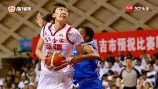 正式登陆WCBA!韩旭处子赛季加盟新疆女篮 被球迷称女版周琦