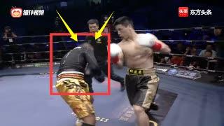 中国邱建良改打拳击?竟将WBC轻量级拳王两次打懵KO了