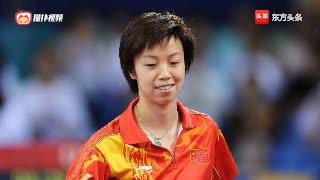 大魔王张怡宁接受采访谈国际乒联新规则,让她打不了漂亮球