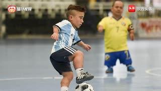 侏儒足球比赛在阿根廷上演,球门仅有1.7米高